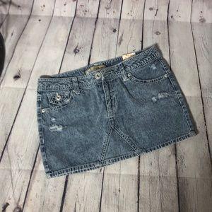 🔴 Denim Mini skirt